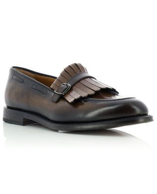 Fringed loafers in polished colour gradient leather BARRETT