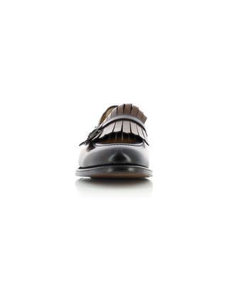 Mocassins à franges en cuir poli à dégradé de couleur BARRETT