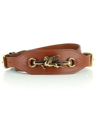 Pegaso double buckle leather belt ETRO