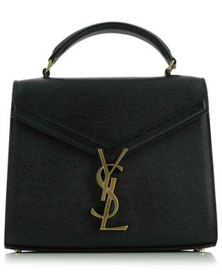 Sac à main en cuir grain de poudre Cassandra Mini Top Handle SAINT LAURENT PARIS
