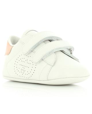 Ace Velcro strap leather baby sneakers GUCCI