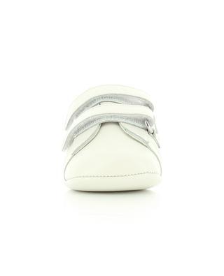 Baby-Sneakers aus Leder mit Klettverschluss Ace GUCCI