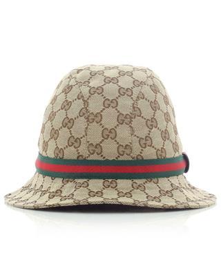 Hut für Kinder im Fedora-Stil Original GG GUCCI