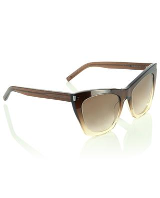 Quadratische Sonnenbrille mit dickem Rand New Wave SL 214 KATE SAINT LAURENT PARIS