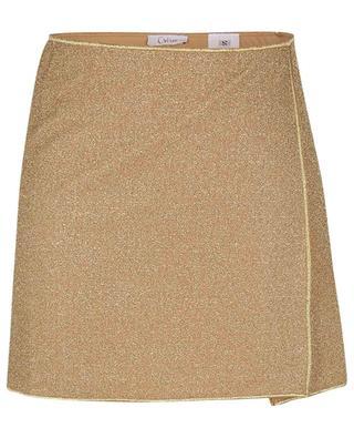 Mini-jupe en lurex Lumière OSEREE