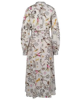 Robe chemise midi en soie imprimée Tree Of Life DOROTHEE SCHUMACHER