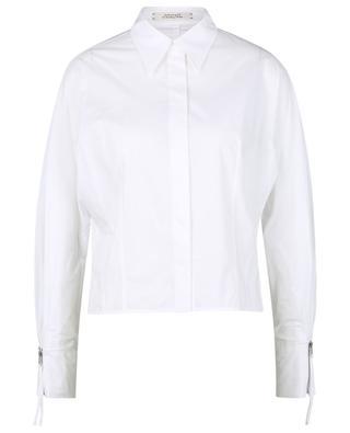 Poplin Power cropped cotton blouse DOROTHEE SCHUMACHER