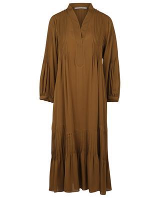 Robe midi en soie avec plissé Fluid Luxury DOROTHEE SCHUMACHER
