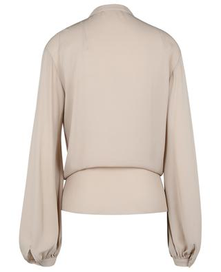 Fluid Luxury knot detail silk blouse DOROTHEE SCHUMACHER