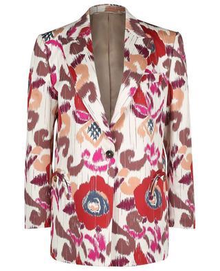 Aloha Tomboy printed single-breasted blazer BLAZE MILANO