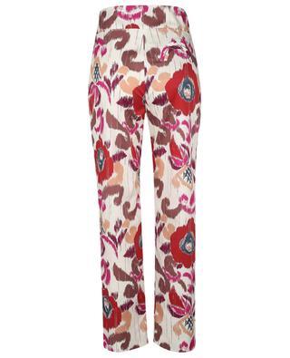 Aloha Basque cotton carrot trousers BLAZE MILANO