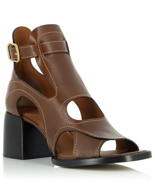 Gaile 65 high-top leather sandals with block heel CHLOE