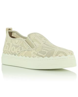 Baskets slip-on en dentelle Lauren CHLOE