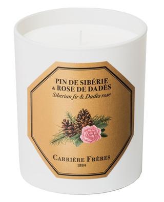 Pin de Sibérie & Rose de Dadès scented candle- 185 g CARRIERE FRERES