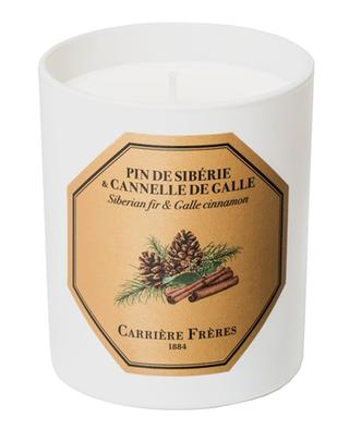 Pin de Sibérie & Cannelle de Galle scented candle - 185 g CARRIERE FRERES