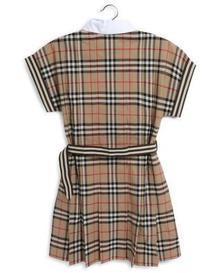 Robe chemise fille imprimée Check Leah BURBERRY