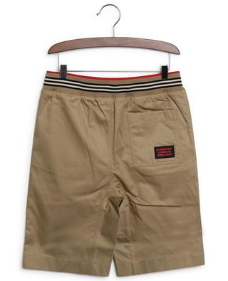 Dylan boys' gabardine Bermuda shorts BURBERRY