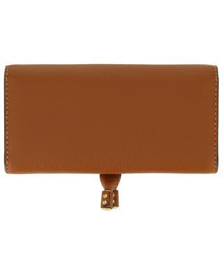 Marcie long grained leather wallet CHLOE