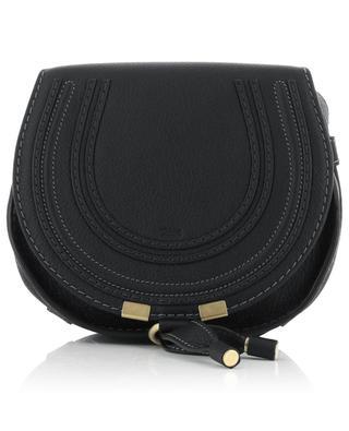 Marcie Mini grained leather saddle bag CHLOE