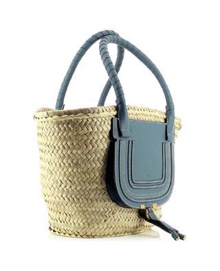 Marcie basket in raffia and leather CHLOE