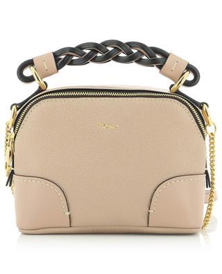 Daria Mini chain strap bag in grained leather CHLOE