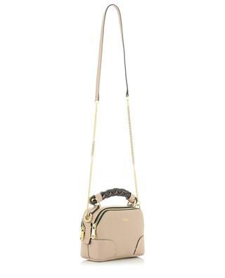 Mini sac porté épaule en cuir grainé Daria CHLOE