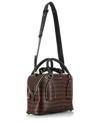 Sac à main en cuir effet croco Daria Medium Day CHLOE