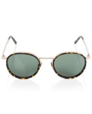The Voyager round metal and acetate sunglasses VIU