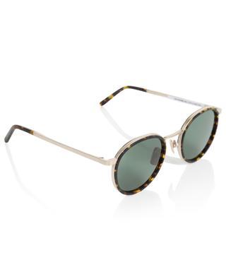 Runde Sonnenbrille aus Metall und Acetat The Voyager VIU