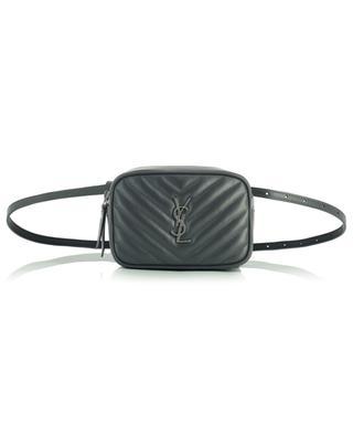 Lou monogrammed quilted leather belt bag SAINT LAURENT PARIS