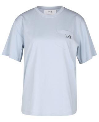 T-shirt en coton biologique imprimé logo VICTORIA VICTORIA BECKHAM