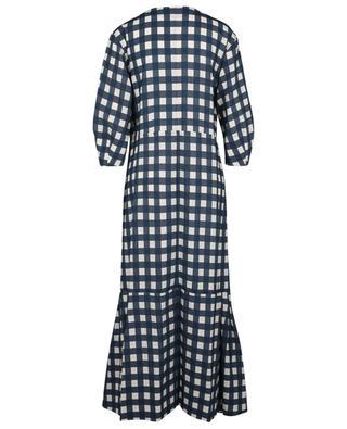 Robe longue oversize imprimée carreaux vichy VICTORIA VICTORIA BECKHAM
