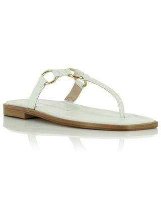 Lalita Flat flip-flops in nappa leather STUART WEITZMAN