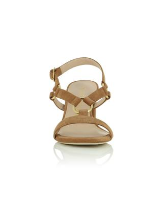 Lalita 75 Blok suede square-toe heel sandals STUART WEITZMAN