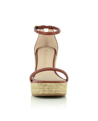 Nudist espadrille-style wedge sandals STUART WEITZMAN