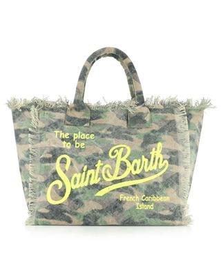 Sac cabas en toile imprimé camouflage Vanity MC2 SAINT BARTH