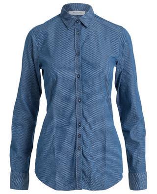 Baumwollhemd mit Print AGLINI