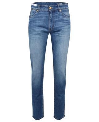 Schmal geschnittene Jeans aus hellblauem Denim Swing PT TORINO DENIM