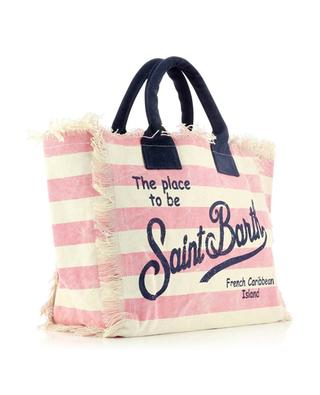 Vanity large printed canvas tote bag MC2 SAINT BARTH