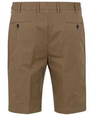Slim fit cotton gabardine Bermuda shorts PT TORINO