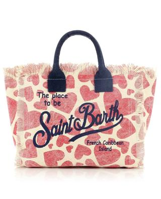 Colette Heart Love printed canvas tote bag MC2 SAINT BARTH