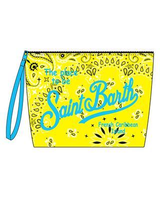 Aline Bandanna fabric beach pouch MC2 SAINT BARTH