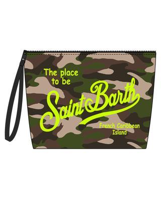 Aline Fluo fabric beach pouch MC2 SAINT BARTH