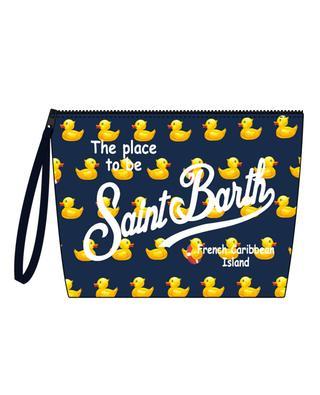 Aline Ducky fabric beach pouch MC2 SAINT BARTH