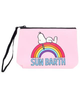 Pochette de plage en tissu Aline Snoopy Rainbow MC2 SAINT BARTH