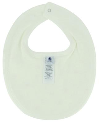 Printed cotton jersey bib PETIT BATEAU
