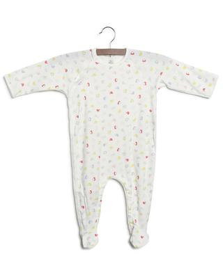 Organic cotton all-in-one with dog print PETIT BATEAU