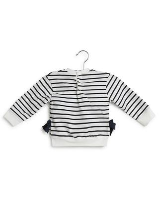 Long sleeve baby sailor shirt with cat print PETIT BATEAU