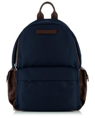 Rucksack aus Nylon und genarbtem Leder Travel BRUNELLO CUCINELLI