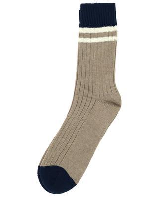 Cotton tennis socks BRUNELLO CUCINELLI